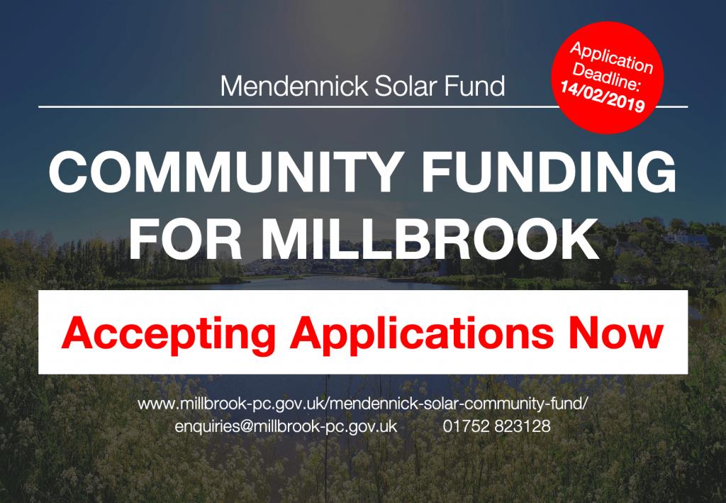 Mendennick Community Fund Image / Poster